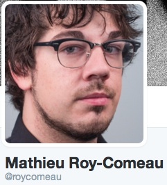 Twitter roy comeau