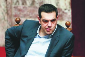 Le premier ministre grec, Alexis Tsipras. - Associated Press: Petros Giannakouris