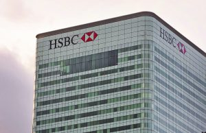A picture shows the London headquarters of HSBC on December 5, 2011. Britain's financial regulator said on December 5 that it had fined HSBC 10.5 million British pounds after one of the banking giant's subsidiaries missold financial retail products to elderly clients. In addition to the fine, equivalent to 12.2 million euros or 16.4 million USD, HSBC has agreed to pay compensation totalling about 29.3 million British pounds (34.2 million euros, 46 million USD), the Financial Services Authority said in a statement. AFP PHOTO / BEN STANSALL