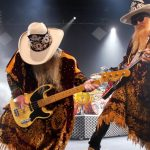 Des deux membres de ZZ Top, Billy F. Gibbons et Dusty Hill. - Archives