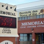 Le Centre civique Memorial de Campbellton. - Archives