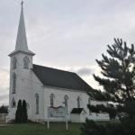 L'église Saint-Georges, à Covedell, près de Néguac, ne sera bientôt plus. Le Diocèse de Bathurst confirme que la structure de bois construite au début du 20e siècle pourrait être bientôt démolie. -Acadie Nouvelle: David Caron