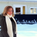 Chantal Sirois, la propriétaire du Chantal's Steak House à Saint-Jacques. - Acadie Nouvelle: Allison Roy.