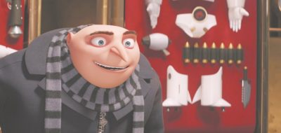 """This image released by Illumination and Universal Pictures shows character Gru, voiced by Steve Carell in a scene from """"Despicable Me 3."""" (Illumination and Universal Pictures via AP)"""